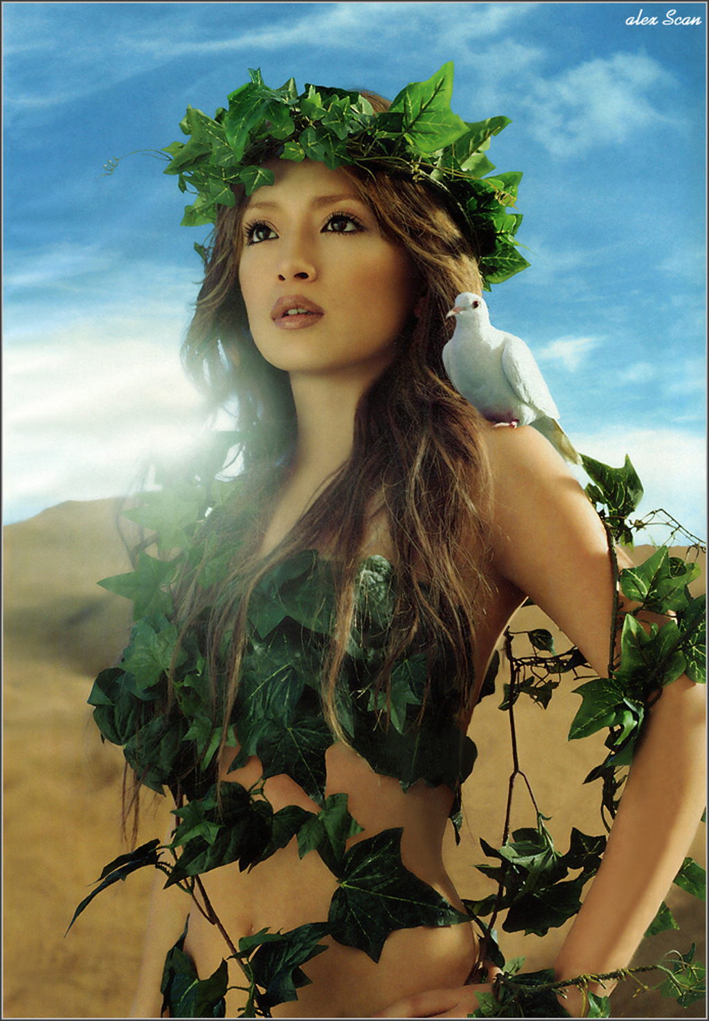 Ayumi Hamasaki: flower of the desert - Minitokyo