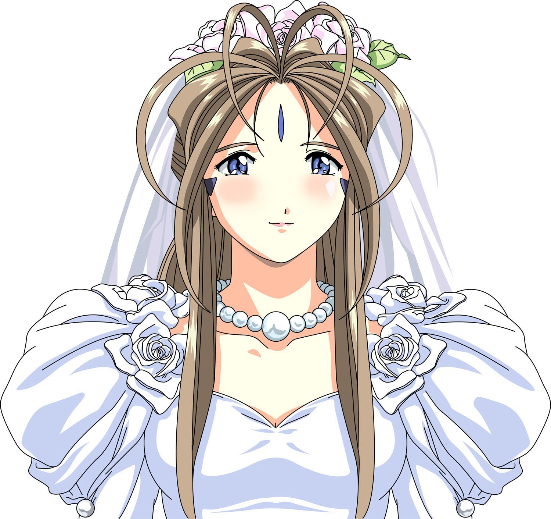 ah megamisama wedding day belldandy minitokyo