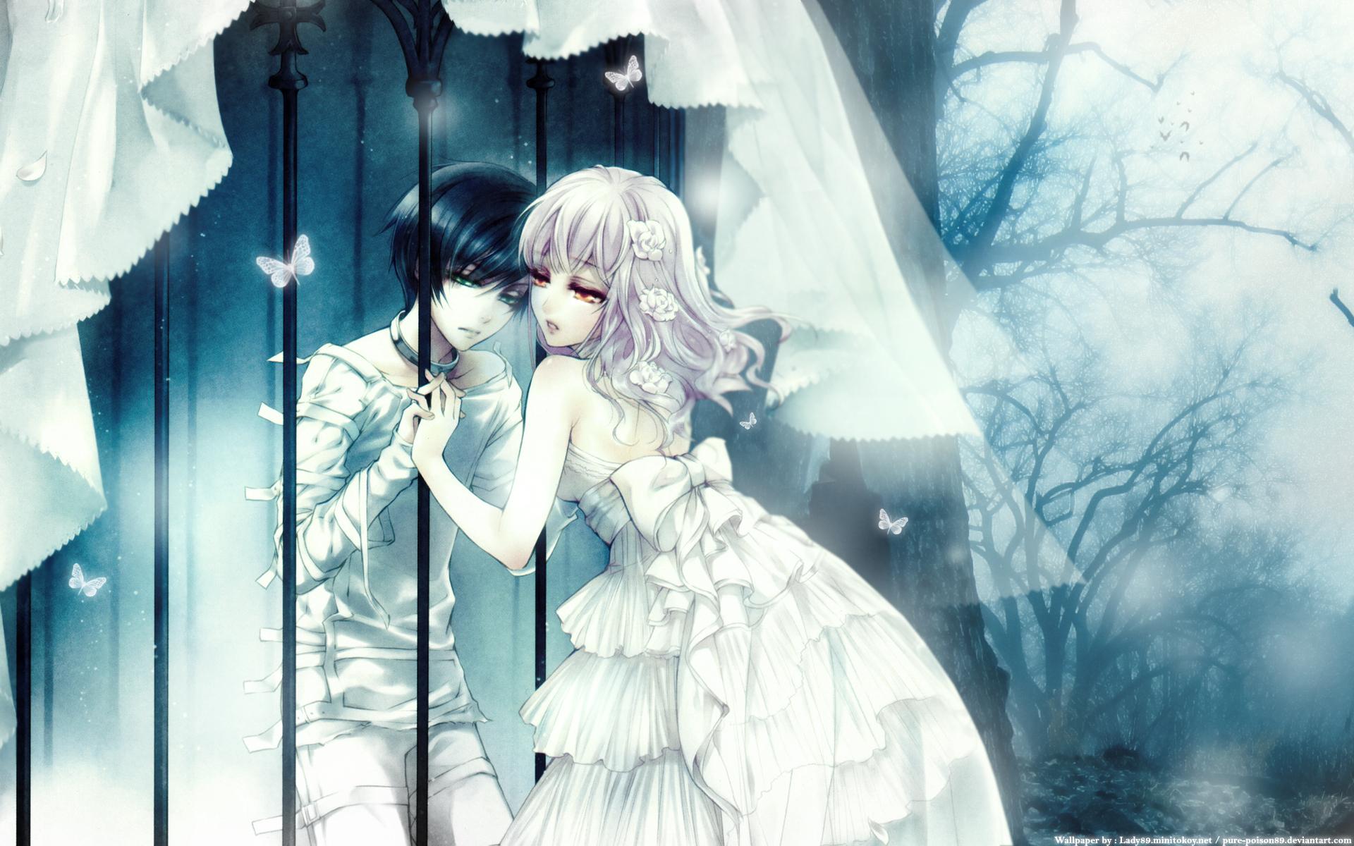 Wand of fortune wallpaper forbidden love minitokyo for Farbideen wand