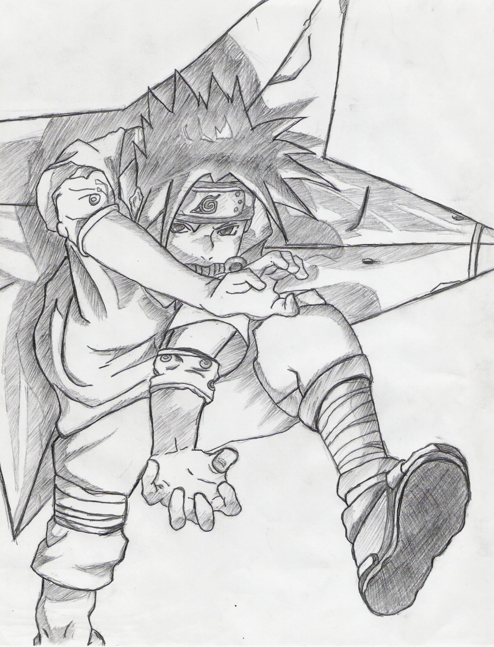 naruto  sasuke uchiha-chidori