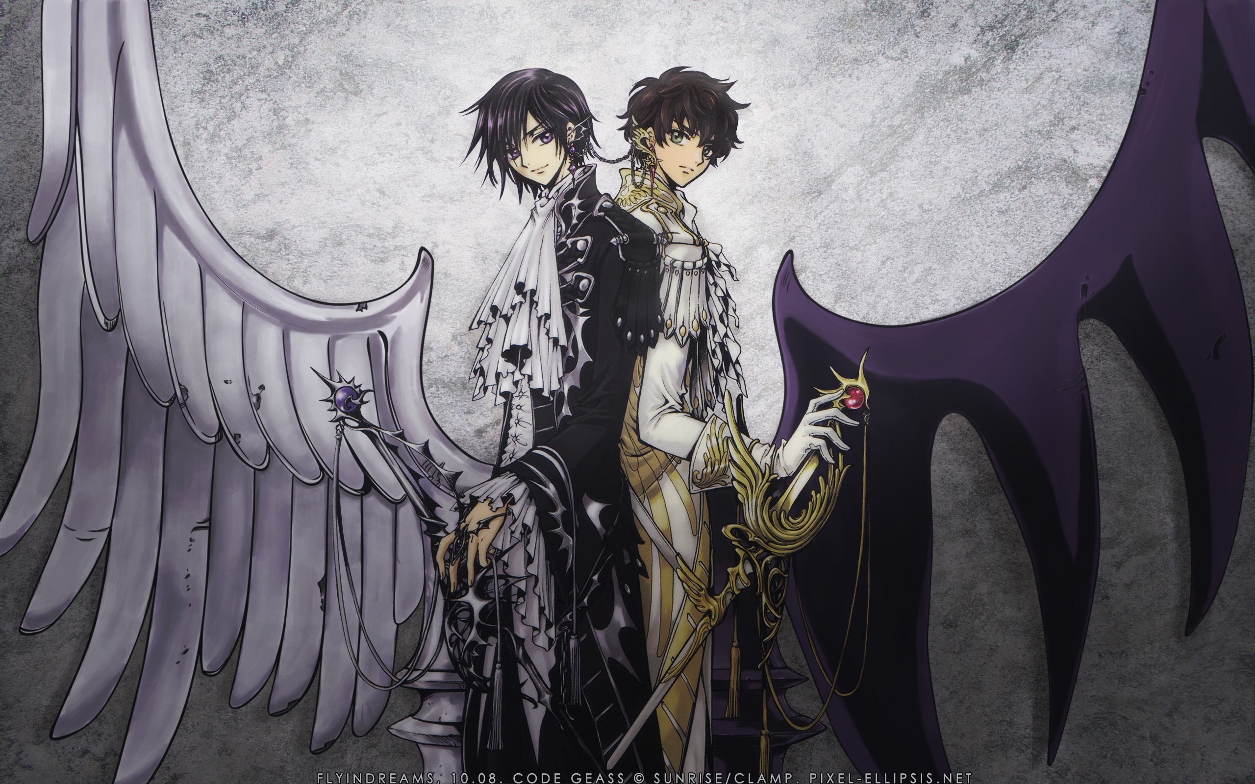 Lelouch Of The Rebellion Wallpaper And Scan Gallery
