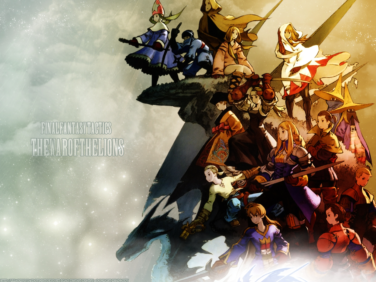 Final Fantasy Tactics Wallpaper [ The War The Lions