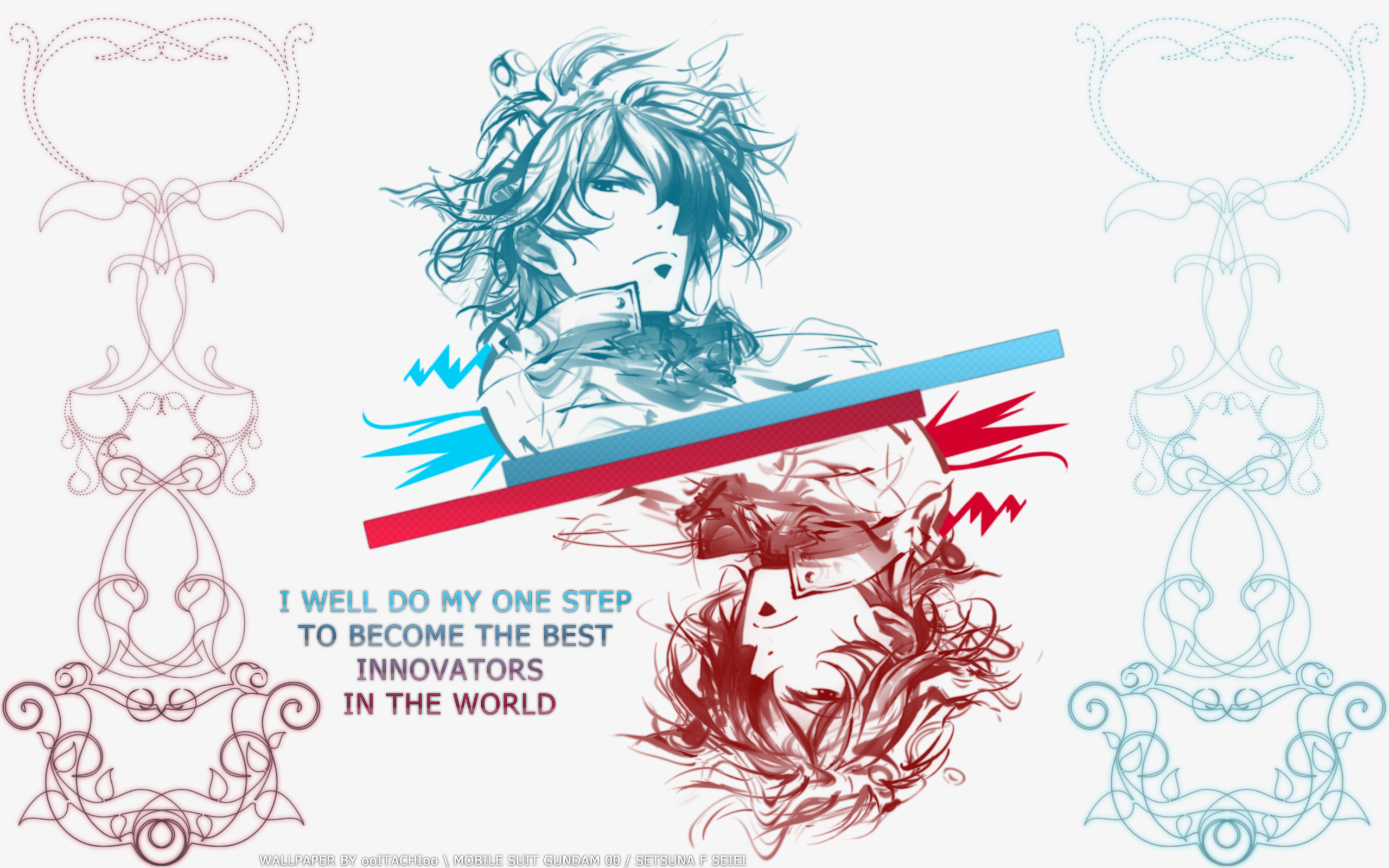 Mobile Suit Gundam 00 Wallpaper Setsuna King Of Innovators Minitokyo