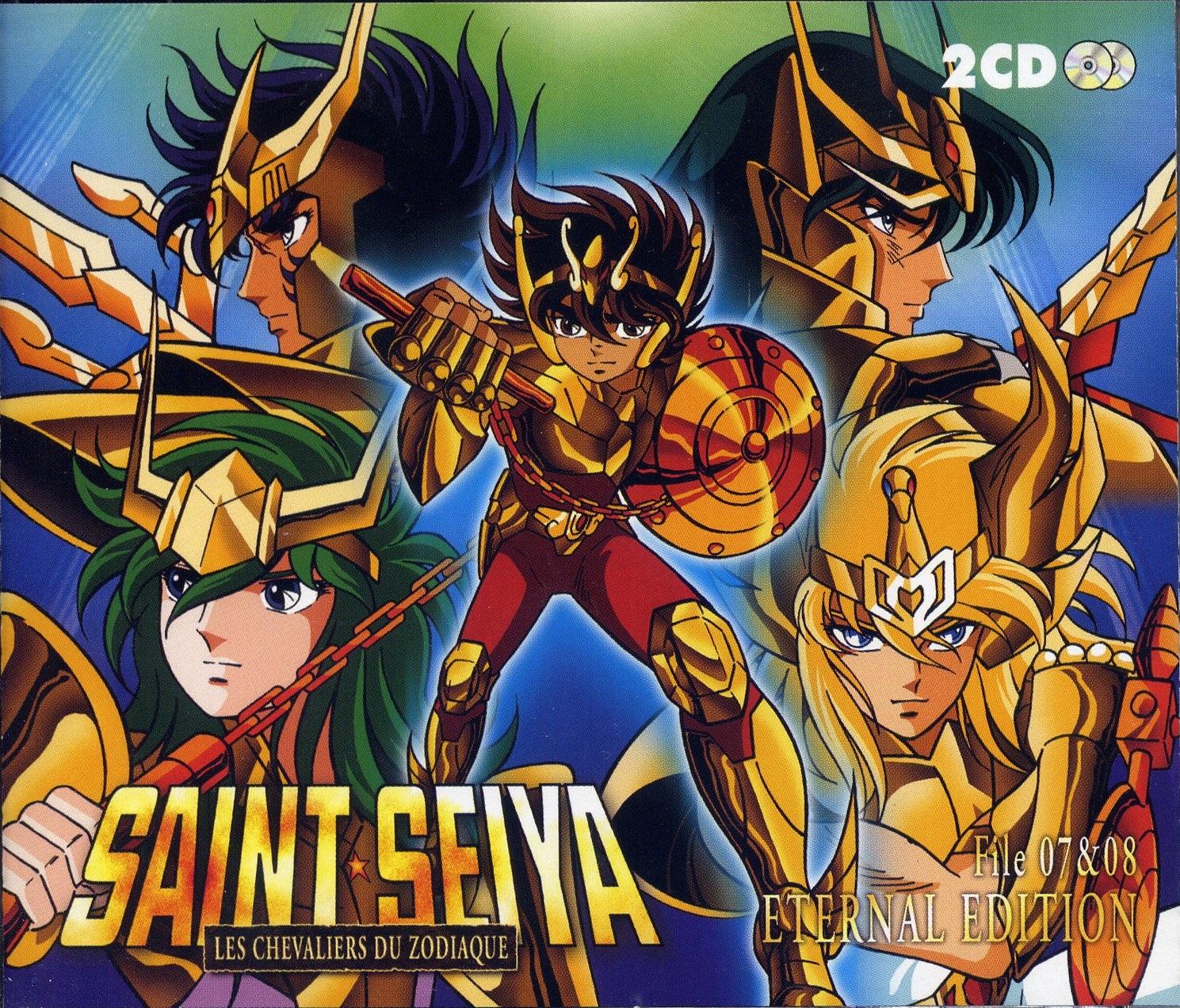 Saint Seiya (Phoenix Ikki, Pegasus Seiya, Cygnus Hyoga