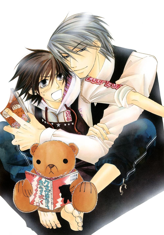 Junjou Romantica (Misaki Takahashi, Akihiko Usami) - Minitokyo
