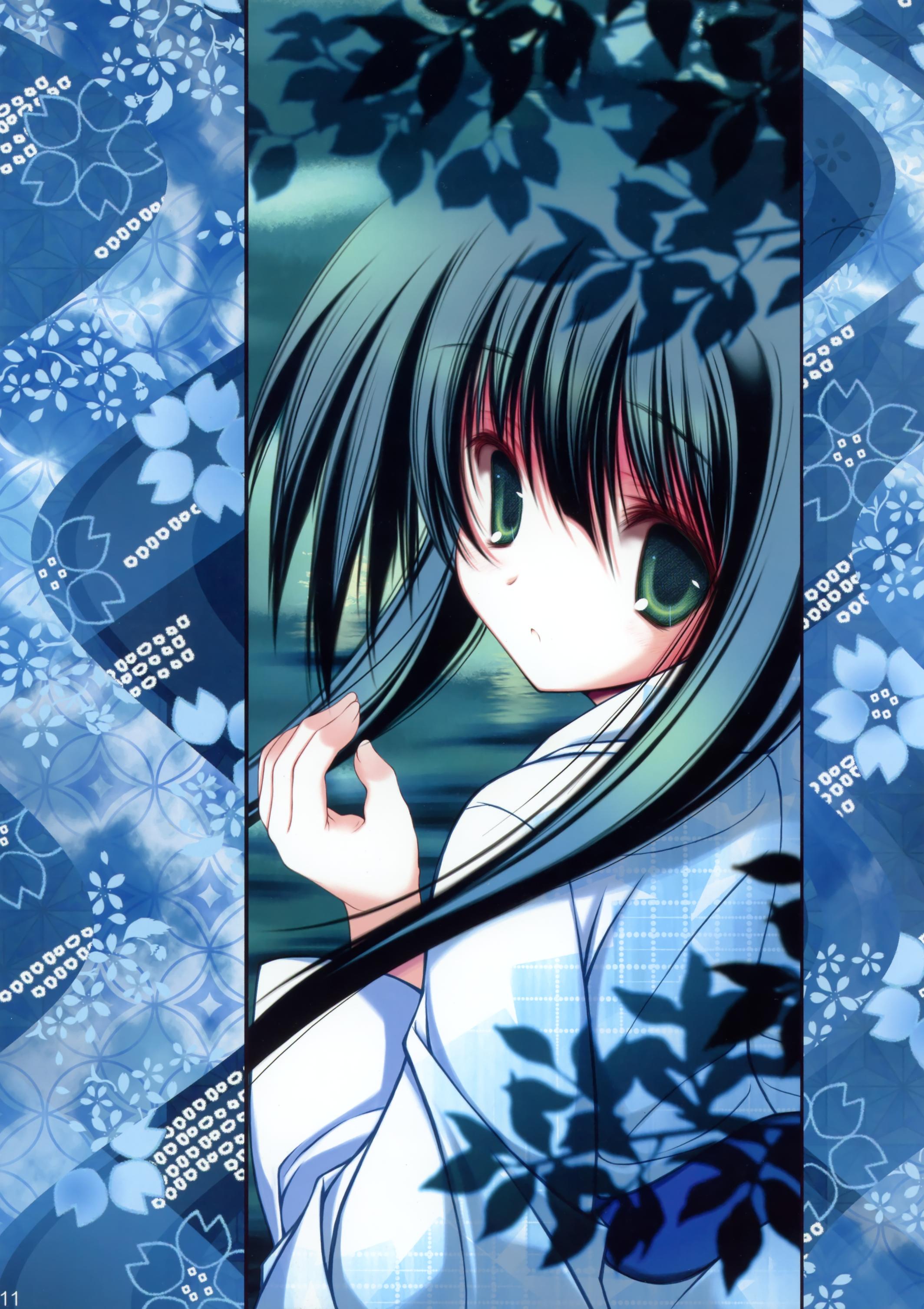 Tenmu Shinryuusai [C80] Wafuku Kurokamilong Girl Looking Back