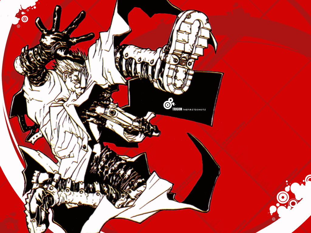 Vash The Stampede Wallpaper And Scan Gallery Minitokyo
