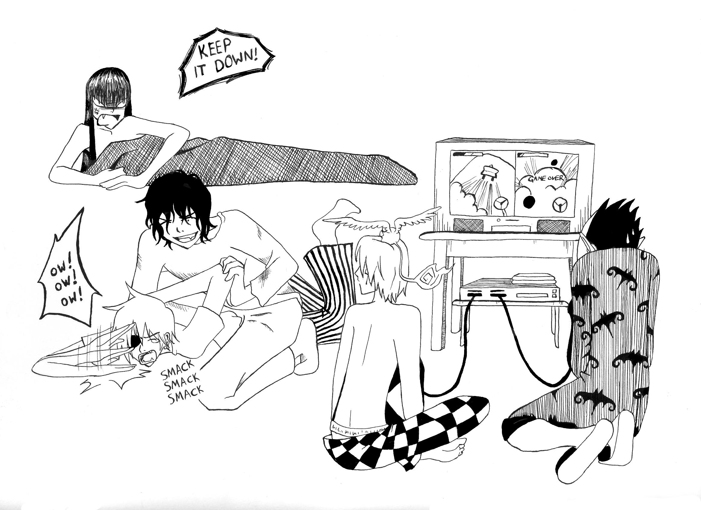 Lavi Allen Doujinshi Tumblr