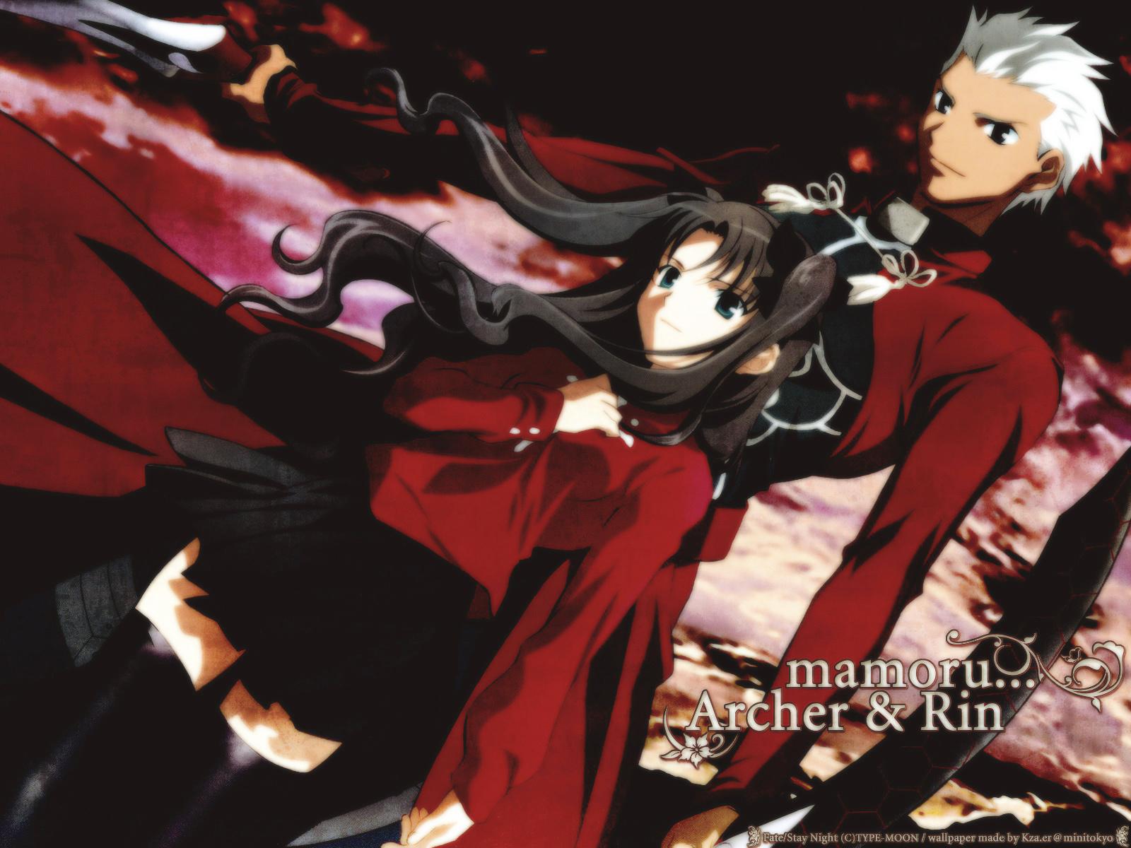 Archer Fate Stay Night Wallpaper And Scan Gallery Minitokyo