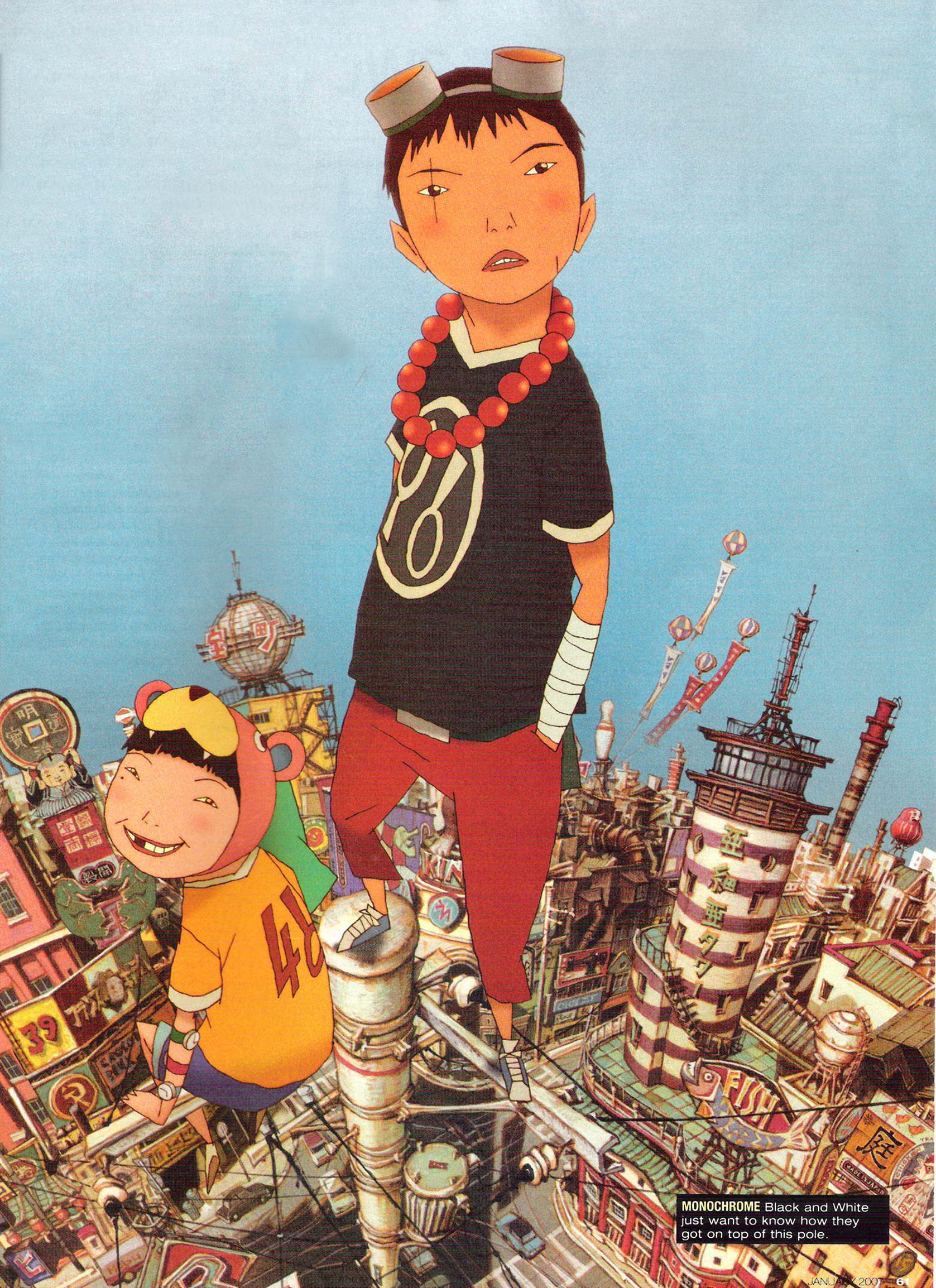 tekkonkinkreet  Tekkon Kinkreet - Wallpaper and Scan Gallery - Minitokyo