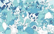 Every Ice Pokemon! by chubbykitty