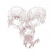 + Chibi Kaname, Yuuki and Zero + by reimyakaruby
