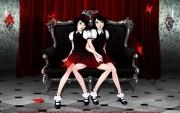 Scarlet Symmetry by ArtificialRaindrop