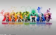 Colors of Miku by Prooof