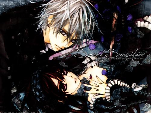 Hino Matsuri, Studio Deen, Vampire Knight, Zero Kiryuu, Yuuki Cross Wallpaper