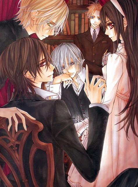 Hino Matsuri, Studio Deen, Vampire Knight, Hino Matsuri Illustrations Vampire Knight, Aidou Hanabusa