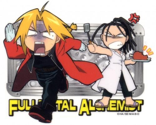 Fullmetal Alchemist Couple Scan