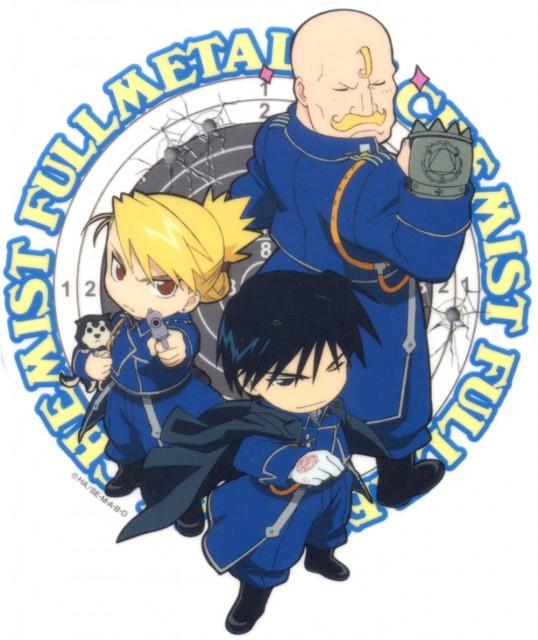 Fullmetal Alchemist Group Scan