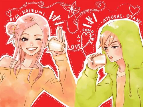 Aya Nakahara, Toei Animation, Lovely Complex, Risa Koizumi, Atsushi Otani Wallpaper